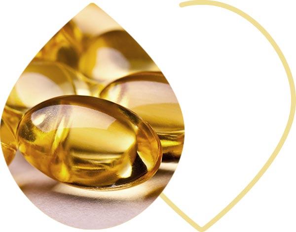 Capsules d'omega 3